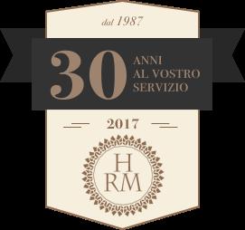 Logo 30 anni HRS